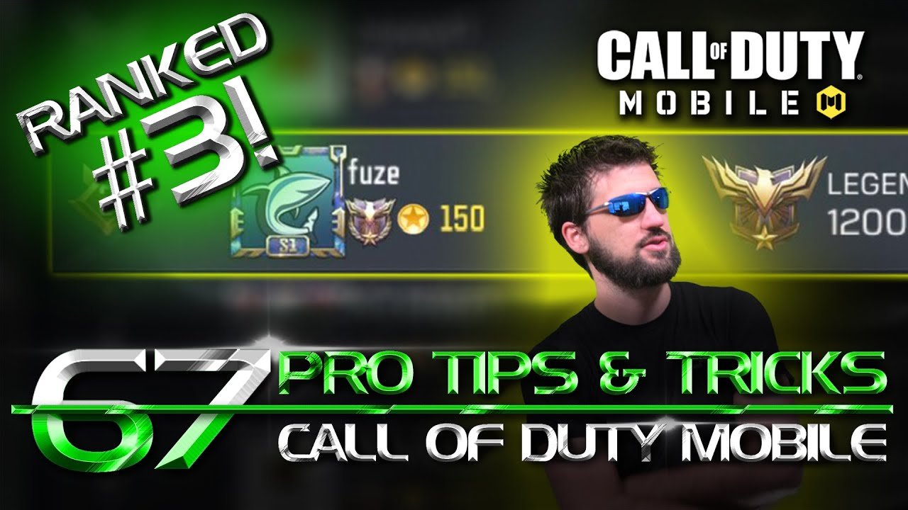 RANKED 3RD! 67 Pro Tips & Tricks for Call of Duty Mobile. CODM PRO Guide