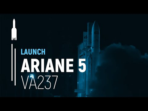 Arianespace Flight VA237 / ViaSat-2 and EUTELSAT 172B