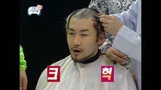 【TVPP】Noh Hong Chul - Shave his head, 노홍철 - 노홍철 빡빡이되다! 눈물겨운 삭발식 @ Infinite Challenge