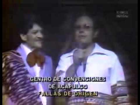 La última presentación de José Alfredo Jiménez en vivo