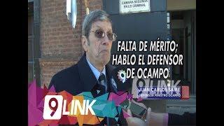 C9 - Falta de Mérito; Hablo el defensor de Ocampo