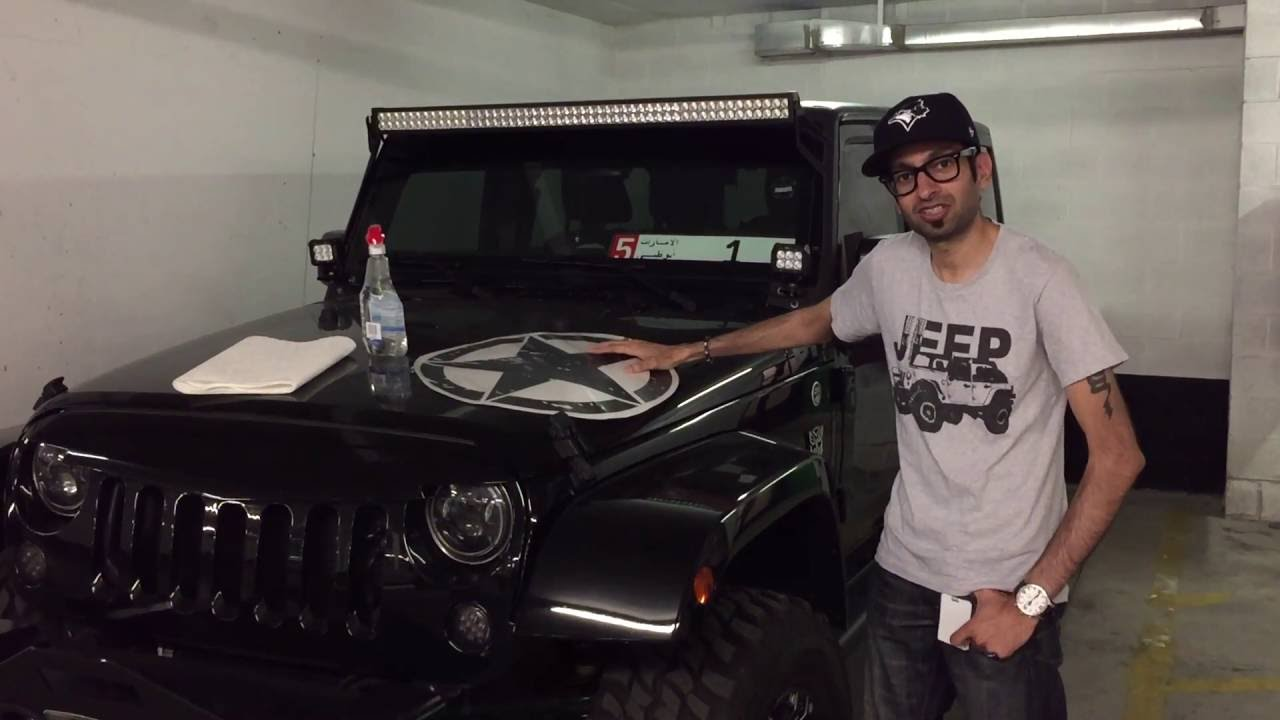 Wet Application On Jeep Wrangler For Army Star Decal Youtube