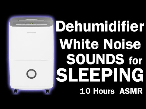 Dehumidifier White Noise Sounds for Sleeping and Resting ASMR 10 Hours