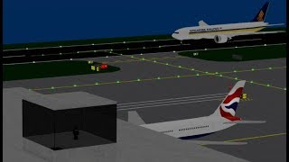 [ROBLOX] - Realistic Session in SFS Flight Sim (ATC) (Sped up x2)