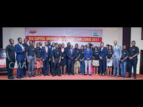 Highlights--AWARD CEREMONY OF THE CAPITAL MARKET UNIVERSITY CHALLENGE 2017 Edition