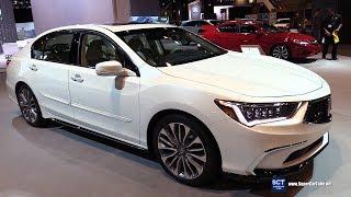 2018 Acura RLX - Exterior and Interior Walkaround - 2018 Chicago Auto Show