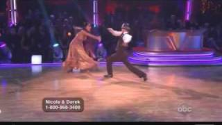 Nicole Scherzinger & Derek Hough - Dancing With The Stars - Fox trot Week 8