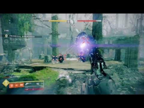 Destiny 2 completing my Gambit seal for the Dredgen title