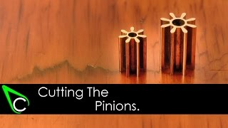 How To Make A Clock In The Home Machine Shop - Part 5 - Cutting The Pinions