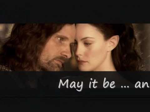 Enya- May It Be (lyrics), Lord Of The Rings