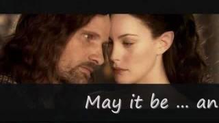 Enya- May It Be (lyrics), Lord Of The Rings