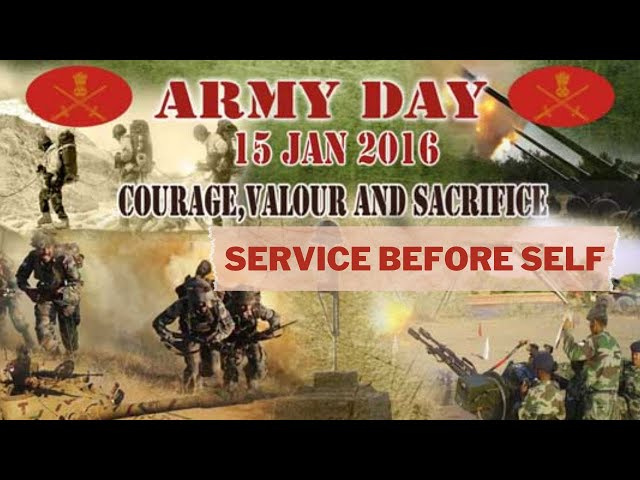 Why do We Celebrate Indian Army Day ? #Armyday #IndianArmy