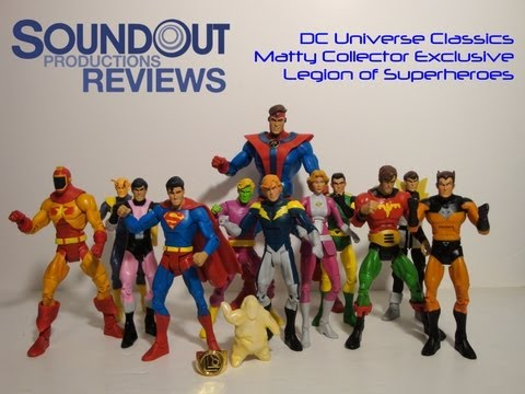 Soundout Review - DC Universe Classics - Legion of Superheroes Multipack
