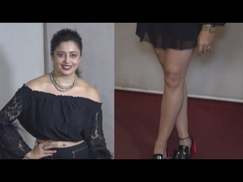 May I Come In Madam's Fame Neha Pendse Showing Hot Assets at Comedian Mubeen's Wife Baby Showe