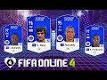 FIFA ONLINE 4: TEST DÀN FULL TC Vs Ronaldo BÉO TC - Makelele TC -  G. Best TC & Rio Ferdinand TC