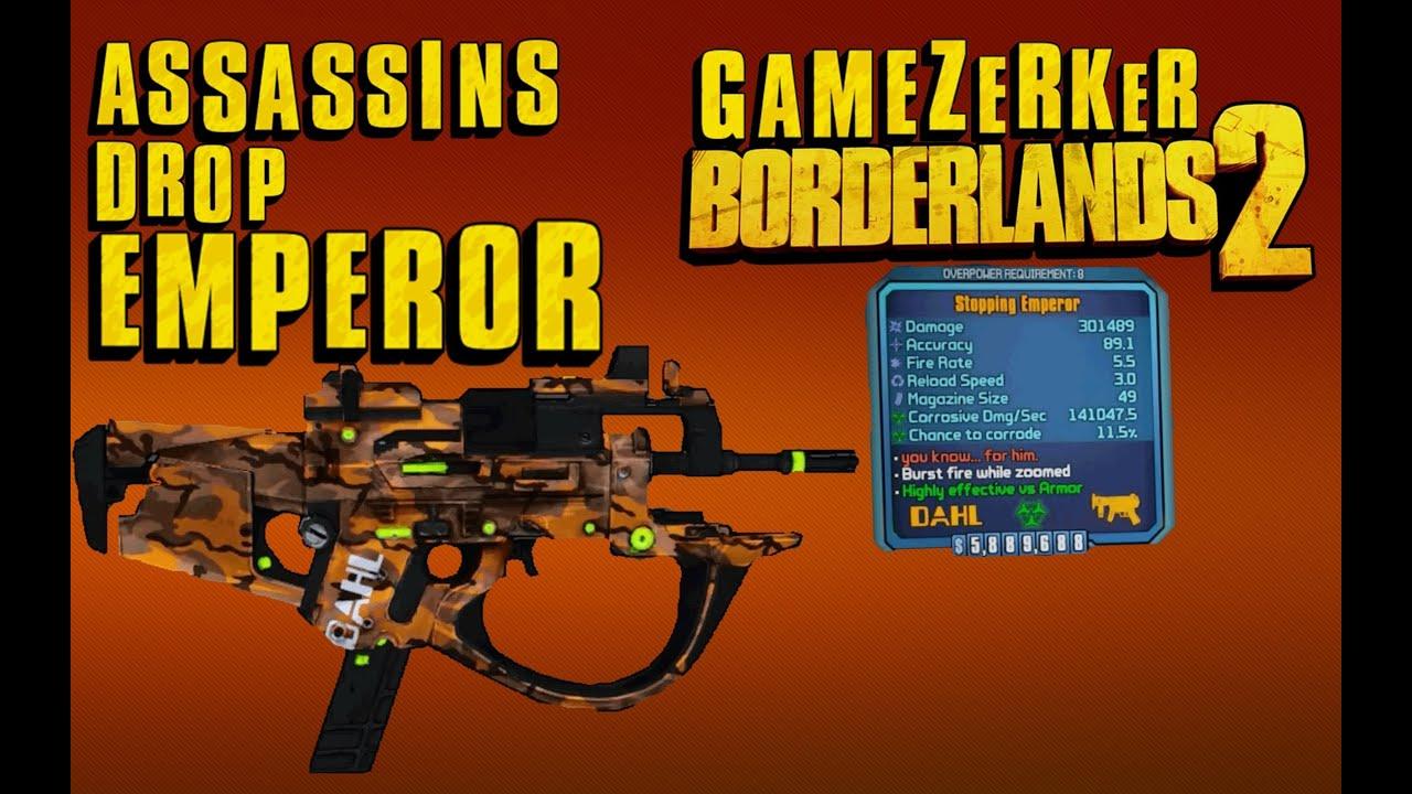Borderlands 2 blue boss legendary drops in raid