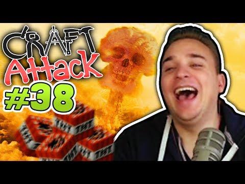 KEV SPRENGT CRAFT ATTACK! ;DD | Minecraft CRAFT ATTACK #38 | Dner