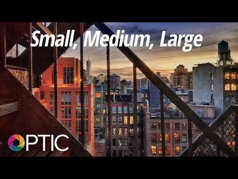 Optic 2016: Small, Medium, Large with Katrin Eismann