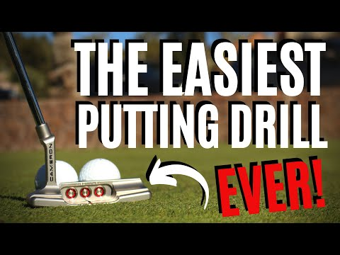 THE EASIEST PUTTING DRILL EVER!