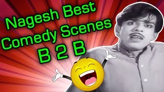 Raktha Thilakam Movie : Nagesh Hilarious Comedy Scenes