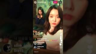 20170316 달샤벳 dalshabet 세리 serri 인스타그램 라이브2!
