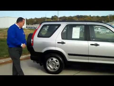 Certified Used 2006 Honda CRV LX 4wd for sale at Honda Cars of Bellevue...an Omaha Honda Dealer!