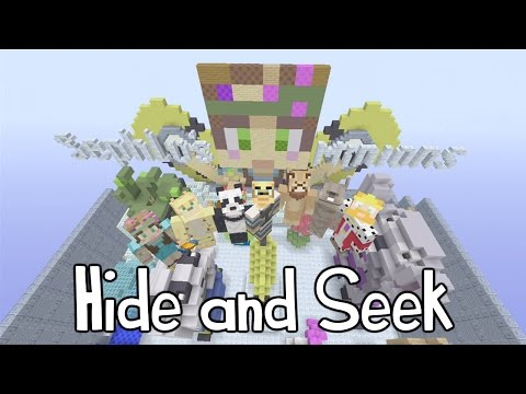 how to get minecraft hide and seek