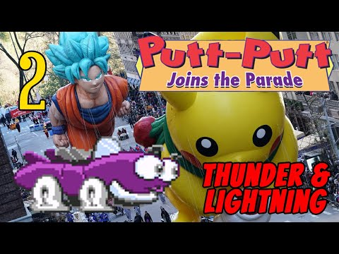 Putt-Putt Joins the Parade | Thunder and Lightning | Episode (2/2) |