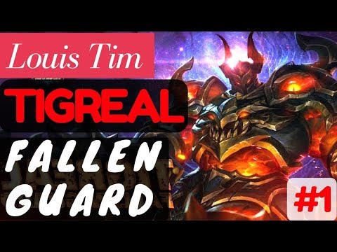 Fallen Guard [Rank 4 Tigreal] | Tigreal Gameplay and Build By Louis Tim #1 Mobile Legends