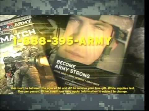US Army Commercial Targeting Video Gamers - YouTube