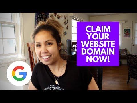 MAKING A WEBSITE - Claim a Domain ASAP