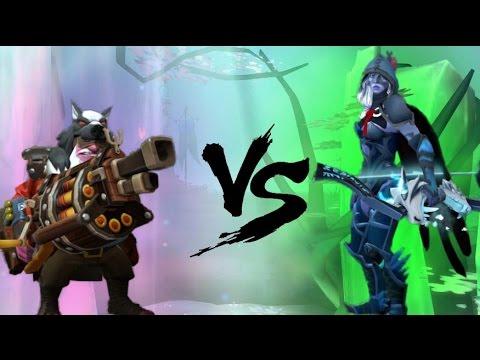 Dota 2 Right Click Battles Leaderboards 14 Sniper Vs Drow Ranger