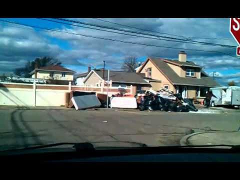 Hurricane Sandy Aftermath - Swap/Flood Zone - Oceanside, Long Island, NY