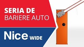 Video: Bariera completa acces stradal Nice WIDES 3M, 100 N, 230 V