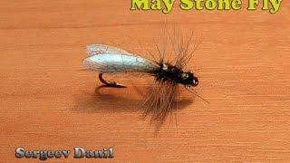 Нахлыст и вязание мушек - Веснянка Сухая. (Stonefly)