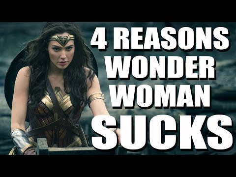 Wonder Woman is overrated - Patty Jenkins, Gal Gadot, Chris Pine