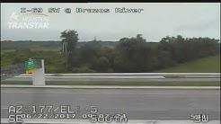 Raw: Police chase suspect on Southwest Freeway near Sugar Land