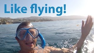 My first skin diving video - adventures in the sea