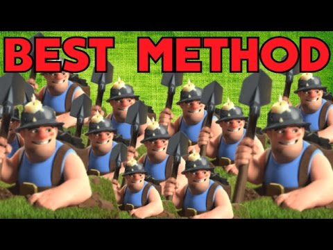 Best Mass Miner Attack Strategy [Clash Of Clans] Th11