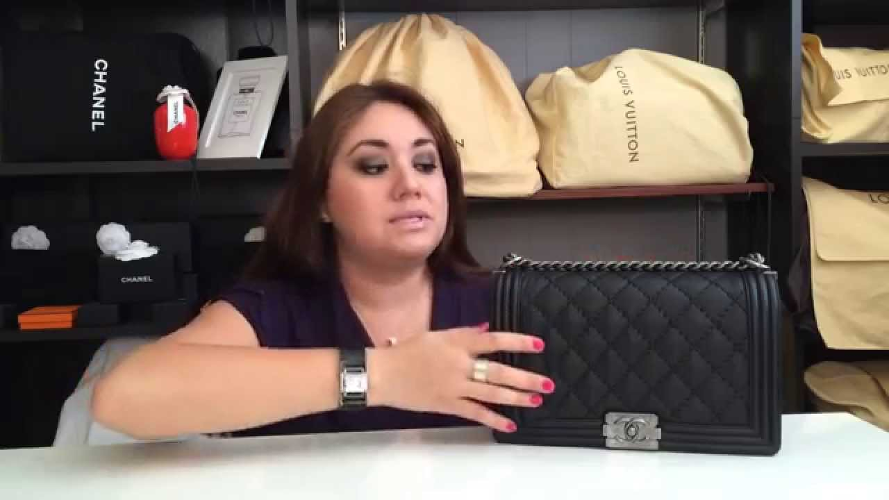 bb467a2b5a21be Chanel Le Boy Bag Review (New Medium) - YouTube
