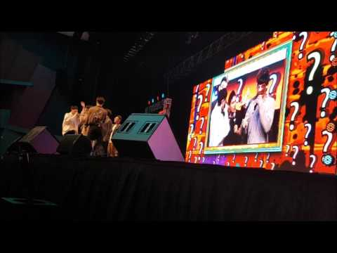 GOT7 Perth Fan Meeting fancam - Game 1 with penalties