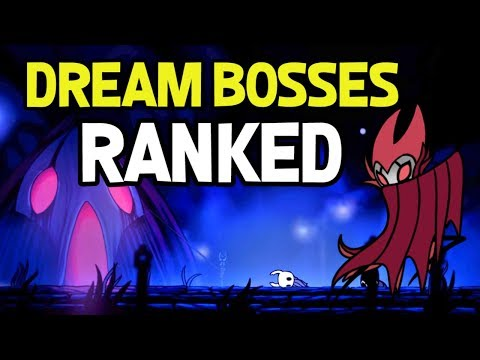 Hollow Knight- Dream Bosses Ranked Easiest to Hardest and