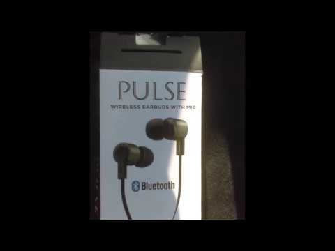 1c64f4aac04 IWorld Pulse Bluetooth Earbuds Review - YouTube