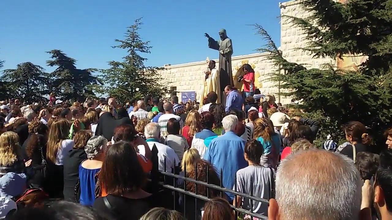 Святой Шарбель. День святого Шарбеля в Ливане. Паломничество.