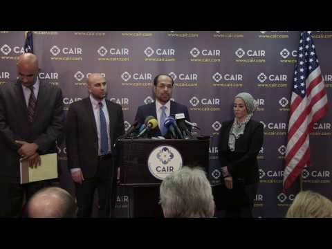 Video: CAIR Files Federal Suit Challenging Constitutionality of Trump's 'Muslim Ban' Executive Order