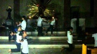 """Immaculate choir """"Mariang Ina ko"""" (Mama Mary"""