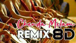 Chenda Melam Remix -8D song |DJ RTC |Energetic Chenda Melam Remix 8D |Muziq beatz 8D