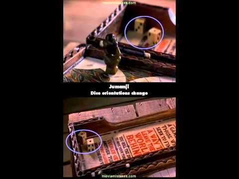 Jumanji movie mistakes 1995