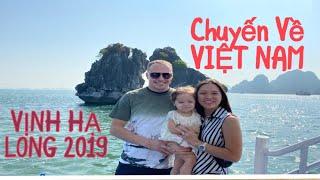 Vlog 824 ll Về Việt Nam Chồng Mỹ MÊ MỆT Vẻ Đẹp Của VỊNH HẠ LONG