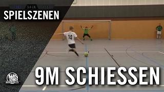 Germania Schwanheim, U19 - FC Eddersheim (Spiel um Platz 3, Hallenturnier) - Neunmeterschießen